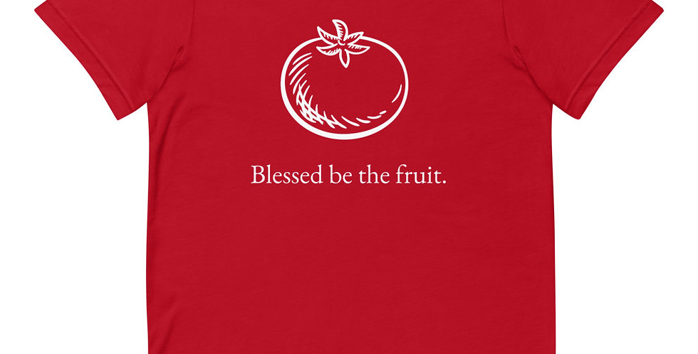 Blessed Be The Fruit Tomato Tee