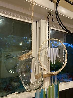 Clear Hanging Vase