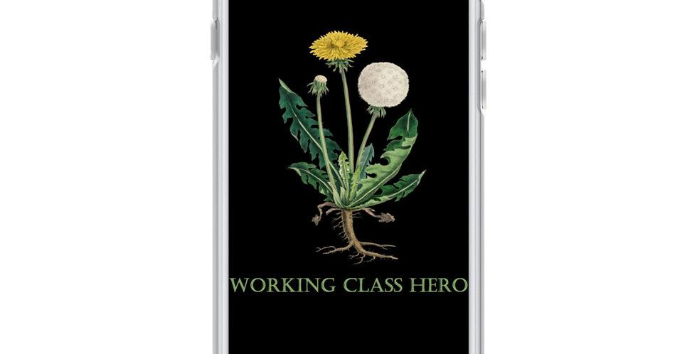 Working Class Hero Dandelion iPhone Case