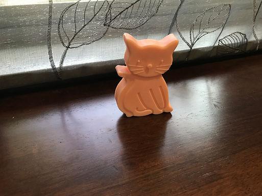 Bright Orange & Bushy-Tailed Soap