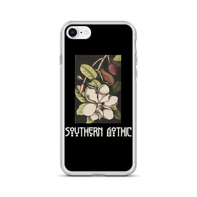 Southern Gothic Magnolia iPhone Case