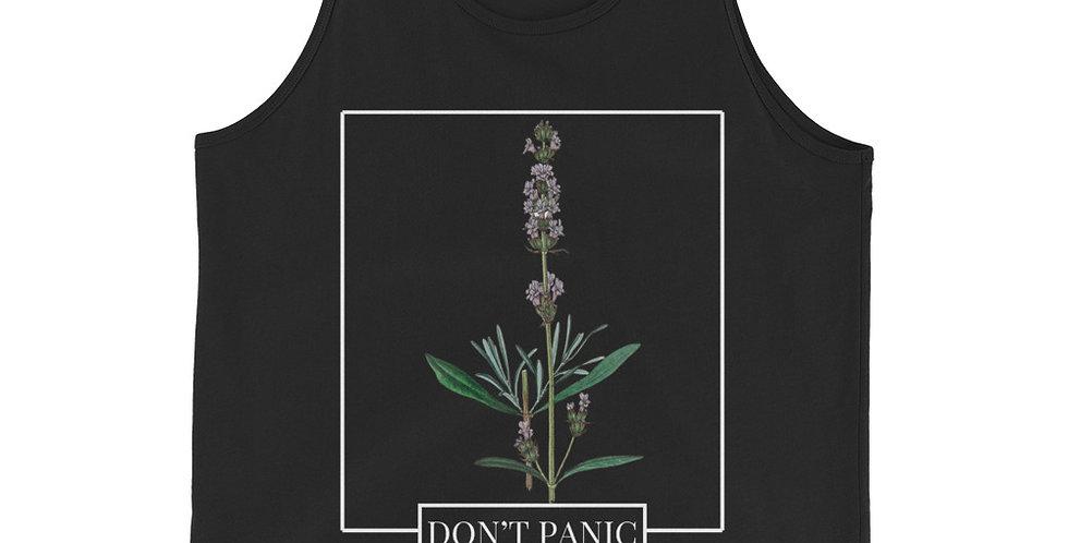 Dark DON'T PANIC Tank