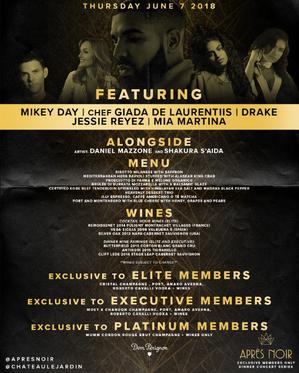 Apre Noir Promotional Flyer