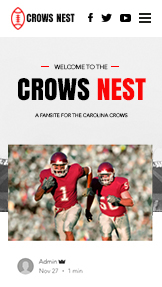 Community website templates – American Football Fan Site