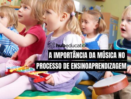 A importância da música no processo de ensino-aprendizagem