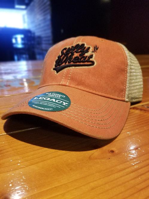 Orange Stilly baseball cap