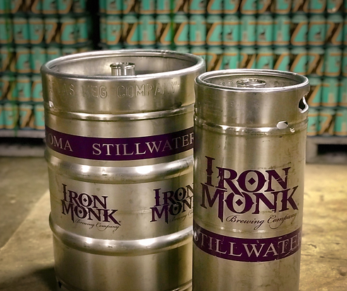 Iron Monk Brewing Company Kegs