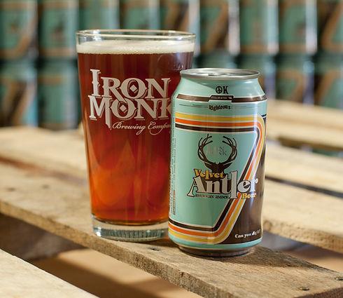 Velvet Antler Amber - Iron Monk Brewing Company