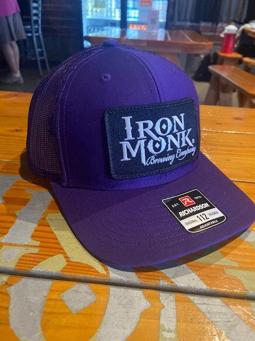 All purple trucker