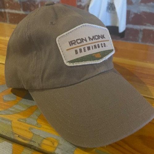 Khaki cotton hat
