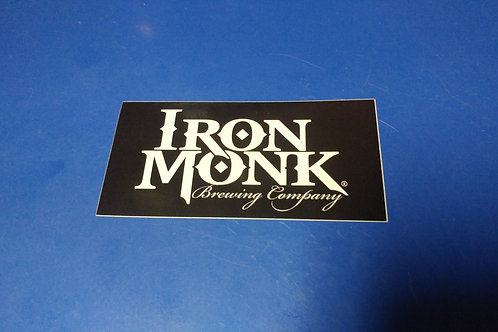 Iron Monk Sticker