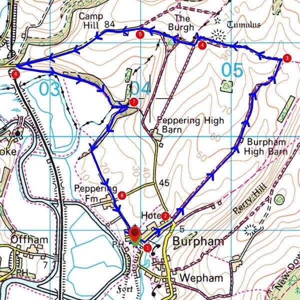 Walk - Burpham Circular - MAP.jpg