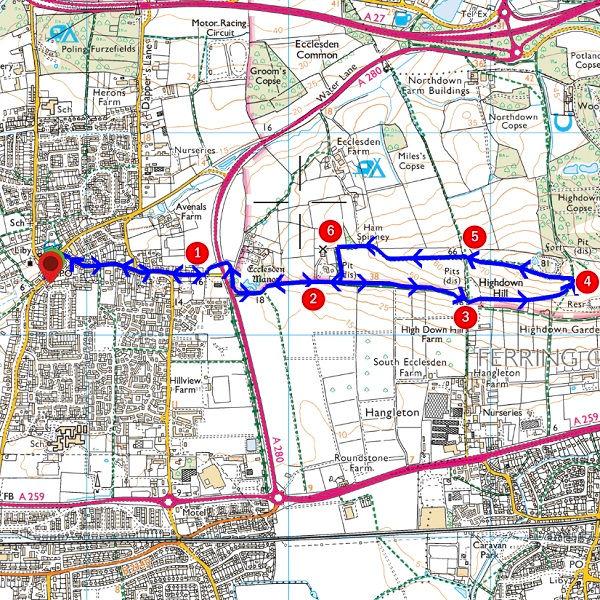 Walk - Highdown Loop - MAP.jpg