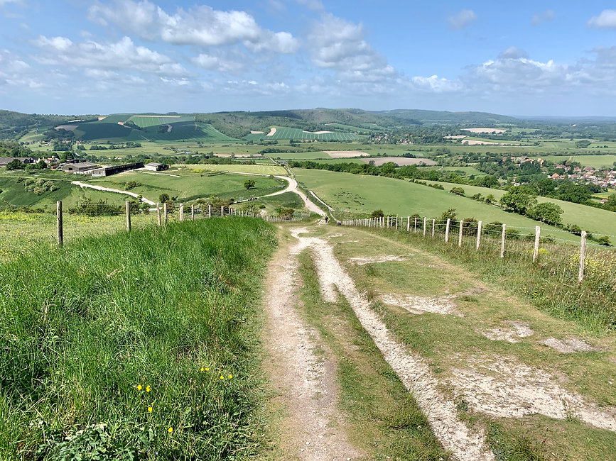 Walk - Angmering Walks - Amberley Mount