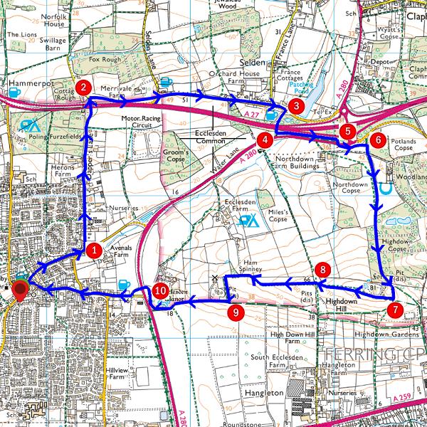 Walk - Angmering Ramble - MAP.PNG