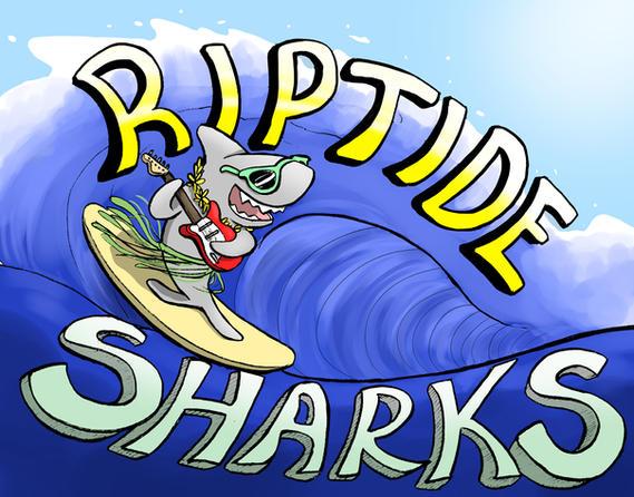Riptide Sharks Logo