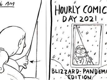 Hourly Comics Day 2021