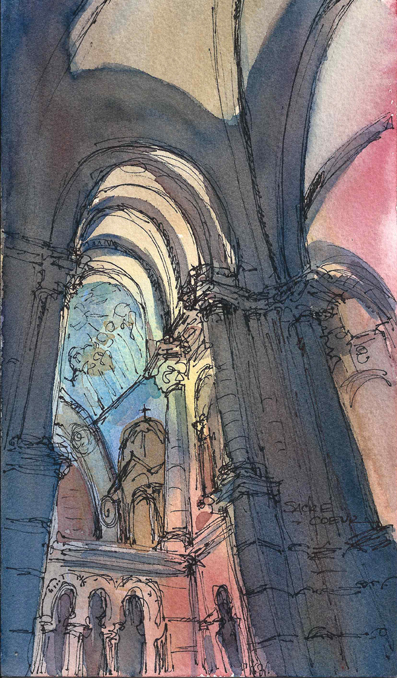 FRANCE_SKETCH_Paris_Church_72dpi