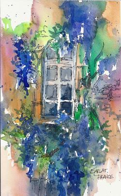 FRANCE_SKETCH_Sarlat_Window_72dpi