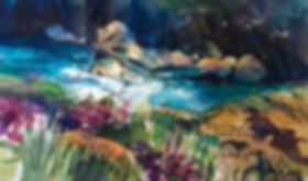 3-TravelSketch_FairyPools_Scotland_Sketc