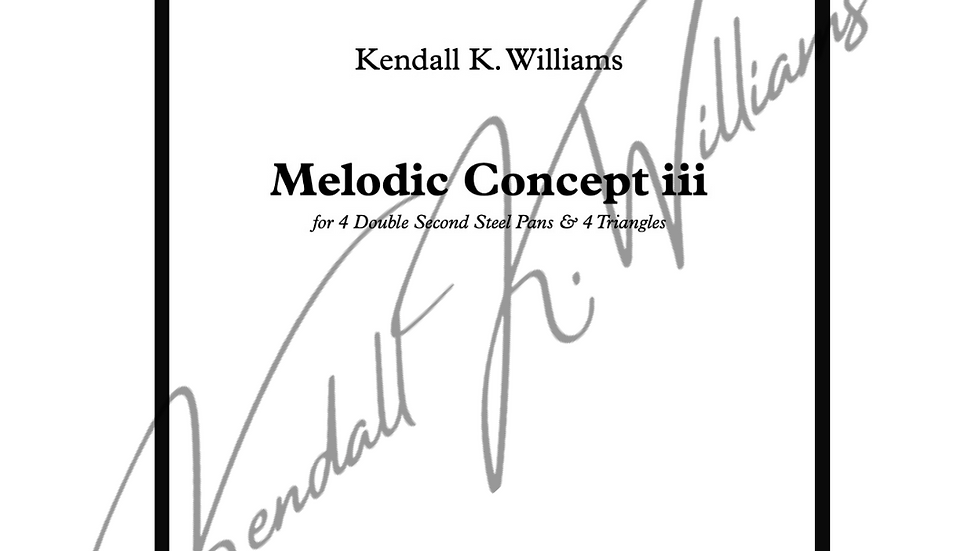 Melodic Concept iii