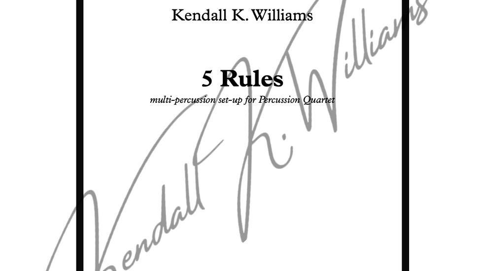 5 Rules