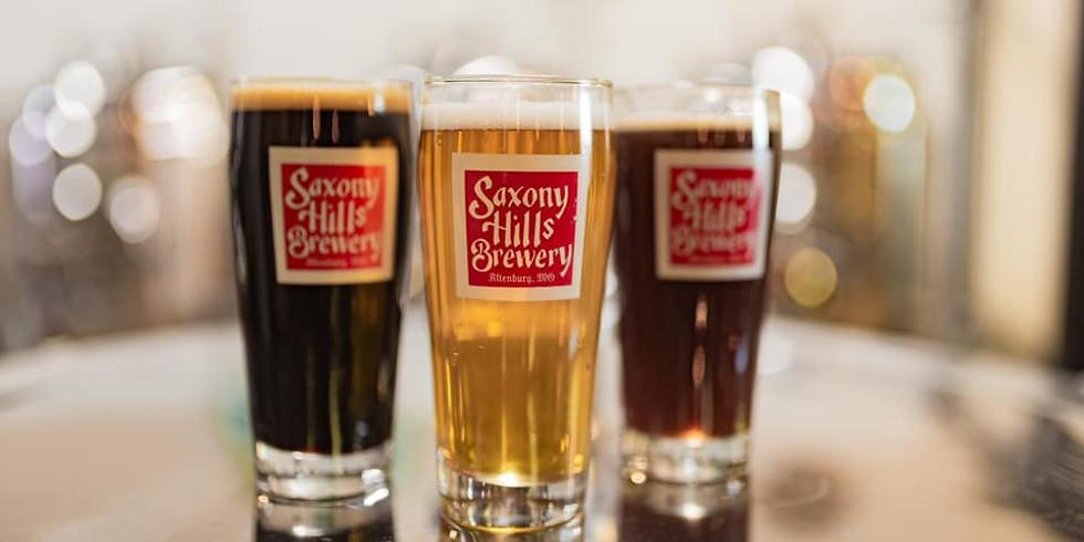 Sam + Jess at Saxony Hills Brewery