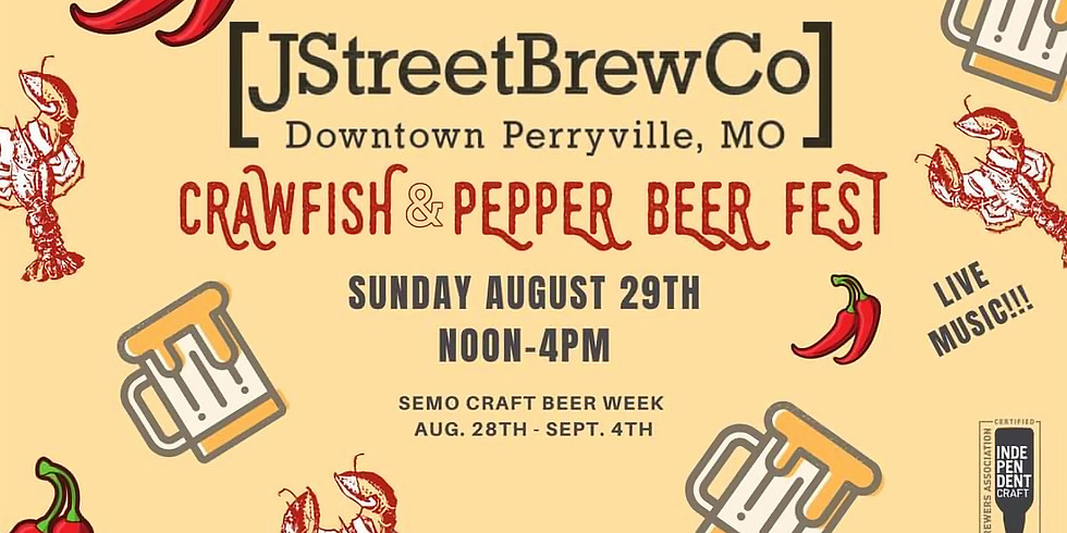 Seafood Boil and Pepper Beer Fest