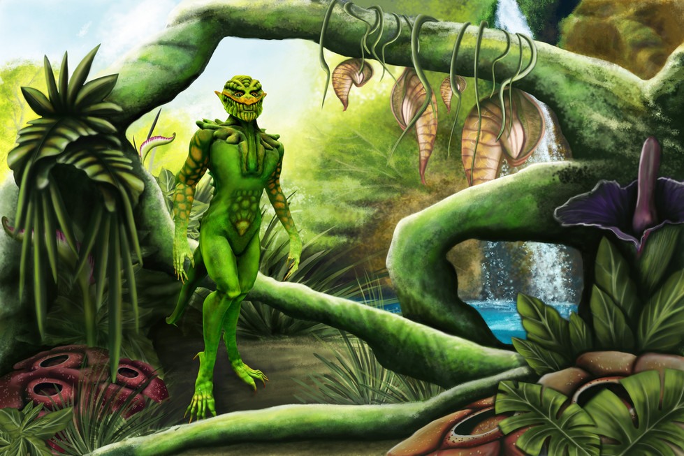 Environment & Character Concept Art  Character created in ZBrush Environment created in Photoshop Photoshop