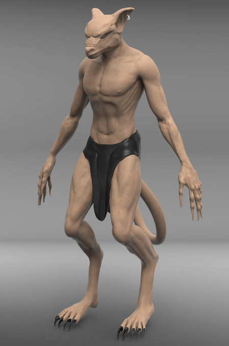 Character Design ZBrush & Keyshot