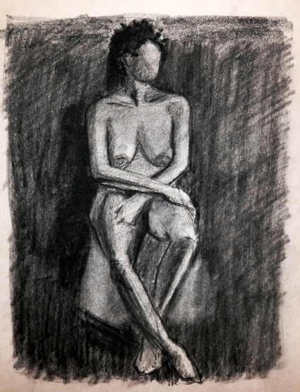 Drawing from Model  10 Minute Sketch