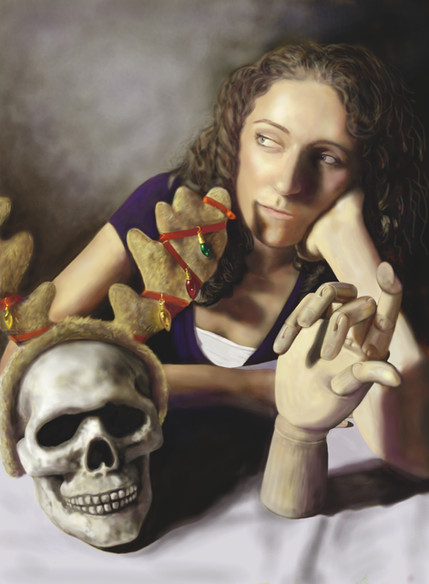 Portrait of Elizabeth Photsohop