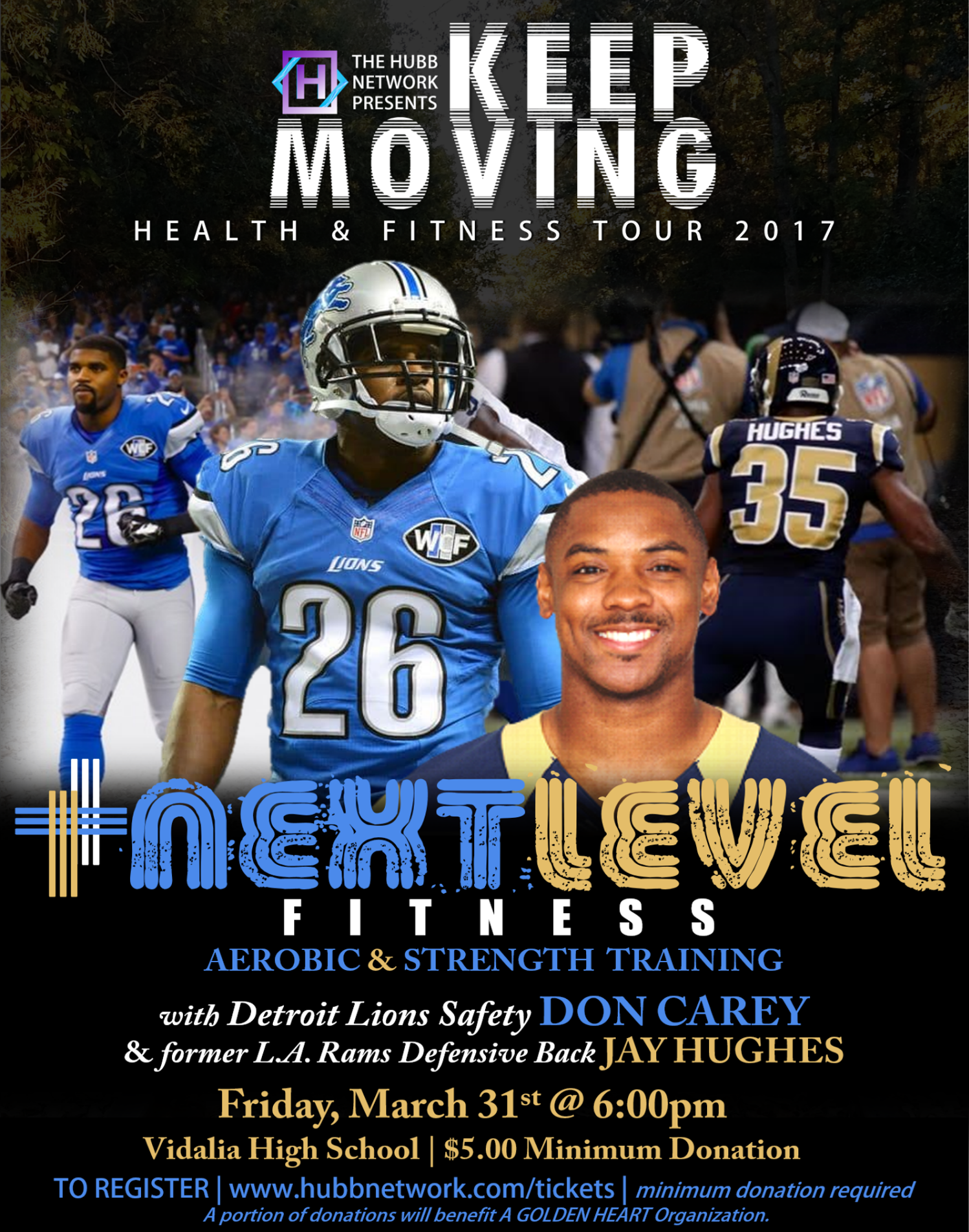 keep moving TOUR. NEXT LEVEL fitness