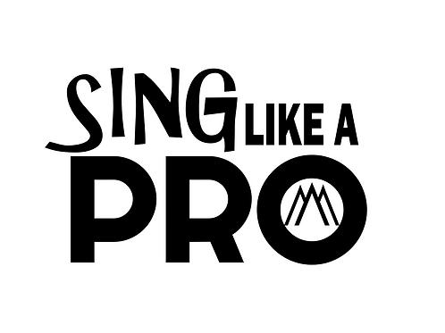 SING like a PRO tshirt