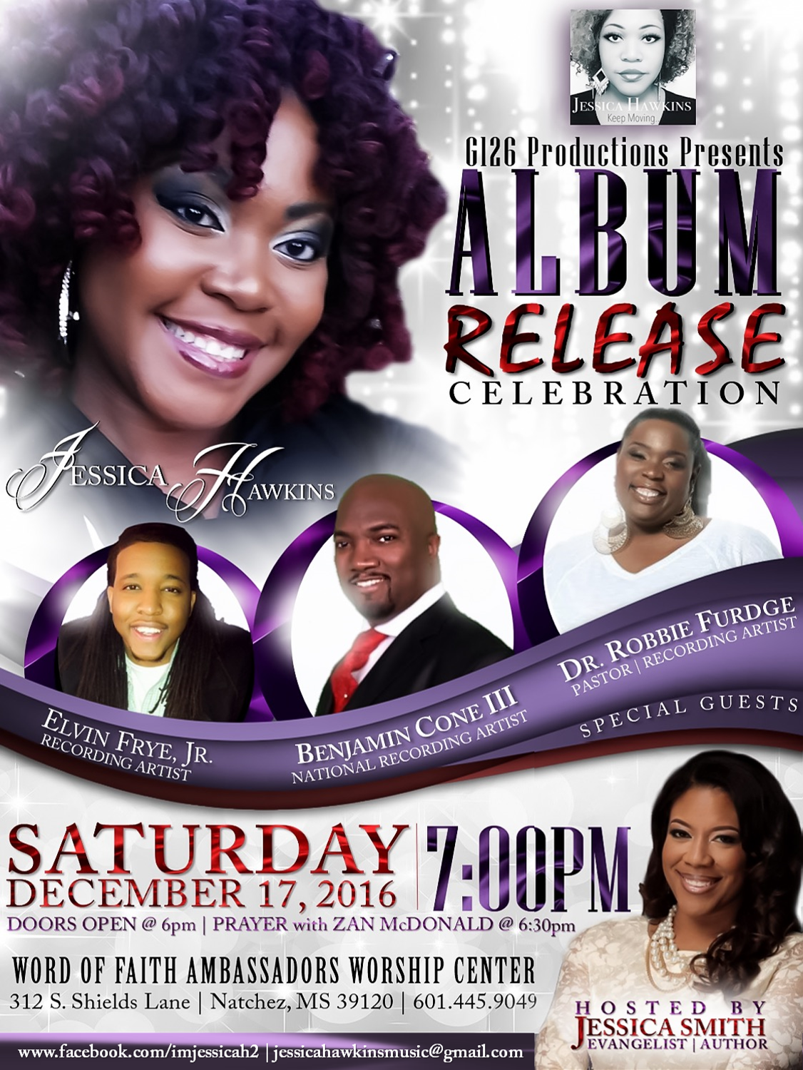 OFFICIAL FLYER. Keep Moving Debut Album Release
