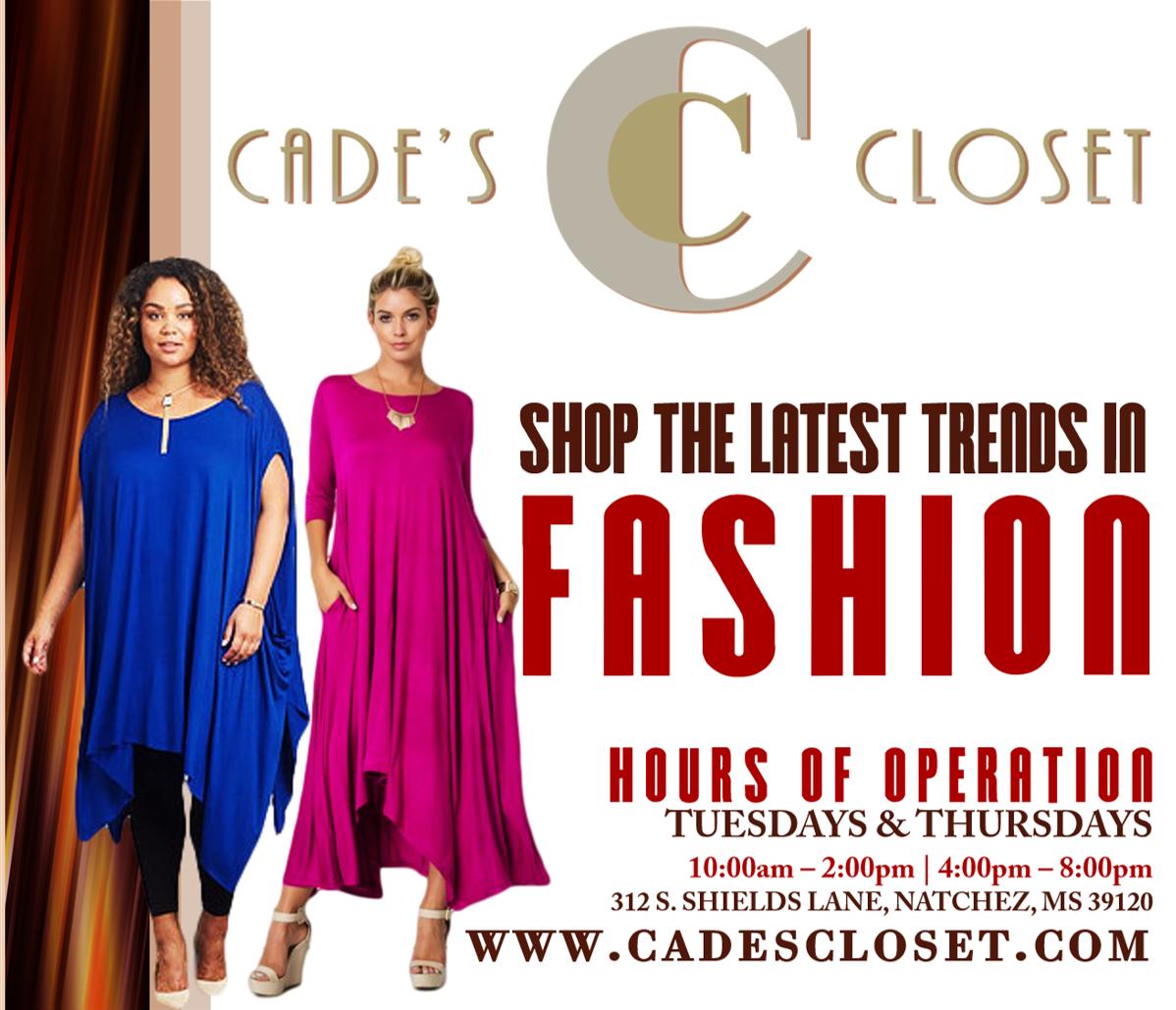 Cades Closet Flyer