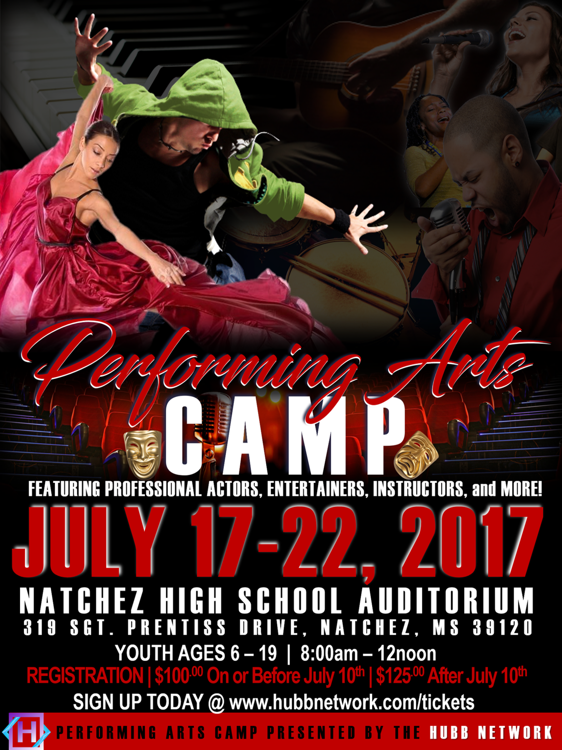 Performing Arts Camp Flyer. Summer 2017.WOF.revised