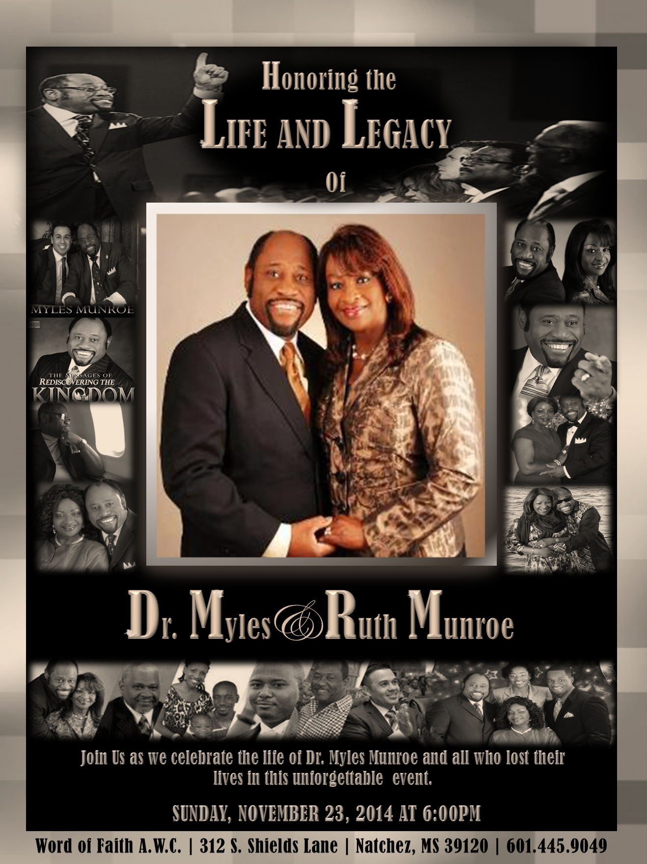 myles and ruth.celebration of life.WOF