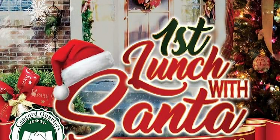 1ST LUNCH with SANTA