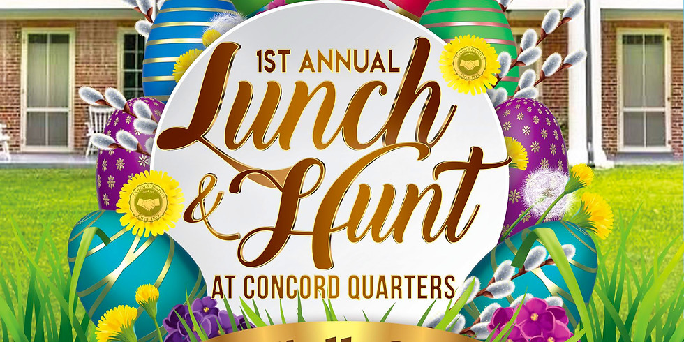 1ST ANNUAL LUNCH and HUNT