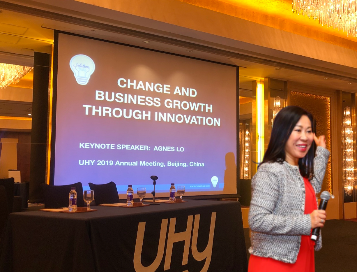 Change and Business Growth through Innovation Keynote Speech