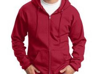 EPPC78ZH Port & Company® - Core Fleece Full-Zip Hooded Sweatshirt.