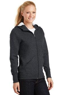 EPL265 Sport-Tek® Ladies Full-Zip Hooded Fleece Jacket.