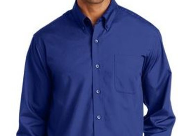 EPS632 Port Authority® Long Sleeve Value Poplin Shirt