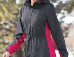 EPL330 Port Authority® Ladies Core Colorblock Wind Jacket.