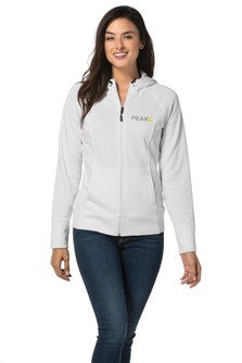 EPLST295 Sport-Tek® Ladies Rival Tech Fleece Full-Zip Hooded Jacket.