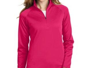 EPEB237 Eddie Bauer® Ladies 1/2-Zip Base Layer Fleece.