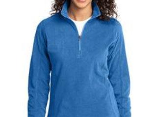 EPL224 Port Authority® Ladies Microfleece 1/2-Zip Pullover.