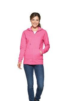EPLPC78ZH Port & Company® Ladies Core Fleece Full-Zip Hooded Sweatshirt.