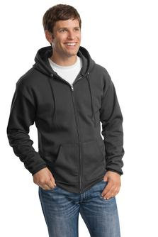EPPC90ZH Port & Company® - Essential Fleece Full-Zip Hooded Sweatshirt.
